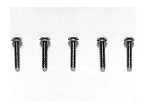 HOP-UP OPTIONS OP-532 3x14mm チタン六角ボタンヘッドビス(5本)
