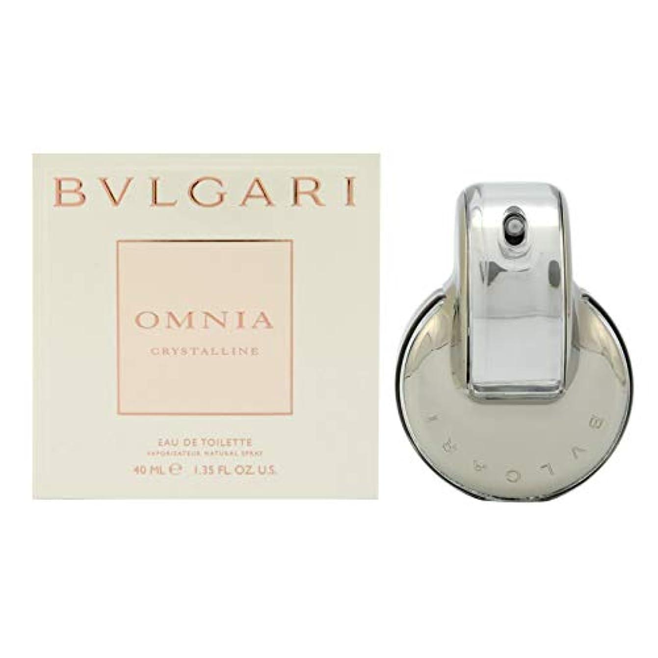 代わりにシール美徳BVLGARI(ブルガリ) ブルガリ オムニア クリスタリン EDT[並行輸入品] スプレー 単品 40ml