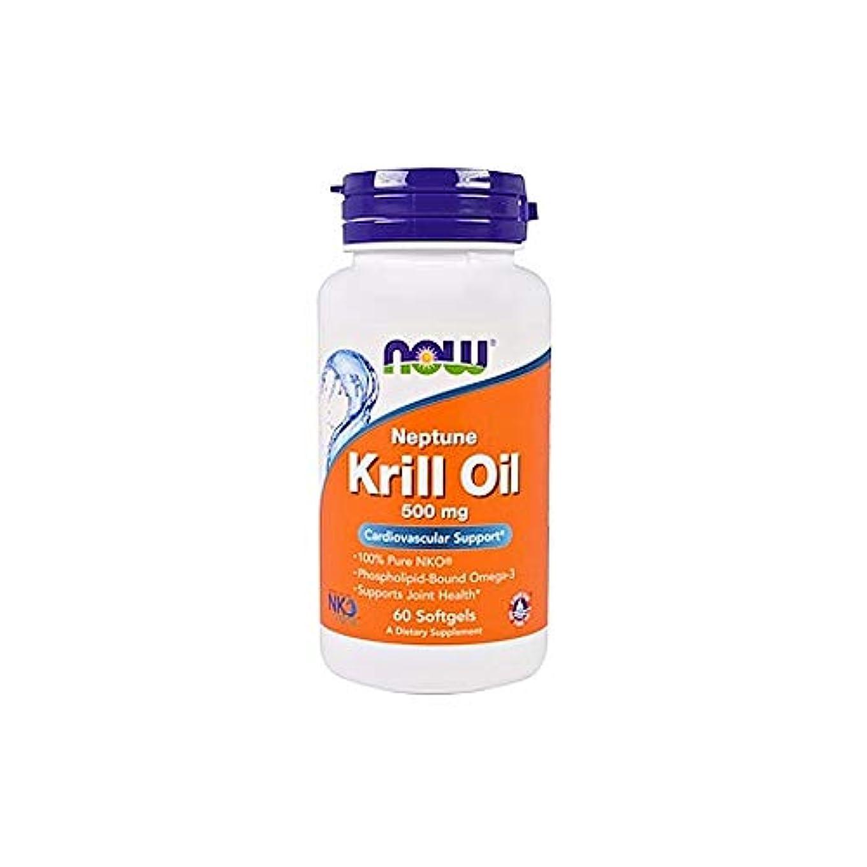フルート儀式告白する[海外直送品] ナウフーズ   Neptune Krill Oil 60 Sgels 500 mg