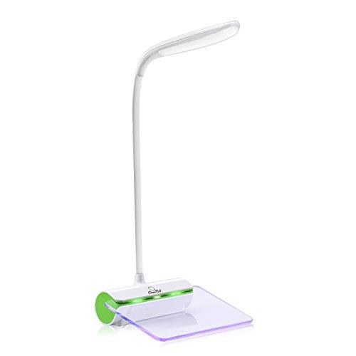 LEDデスクライト OCOOPA メッセージボード タッチセンサー 三段階調光 USB充電 蛍光ペン付き 14時間連続稼働 睡眠/読書ランプ/伝言板/告白/プレゼント