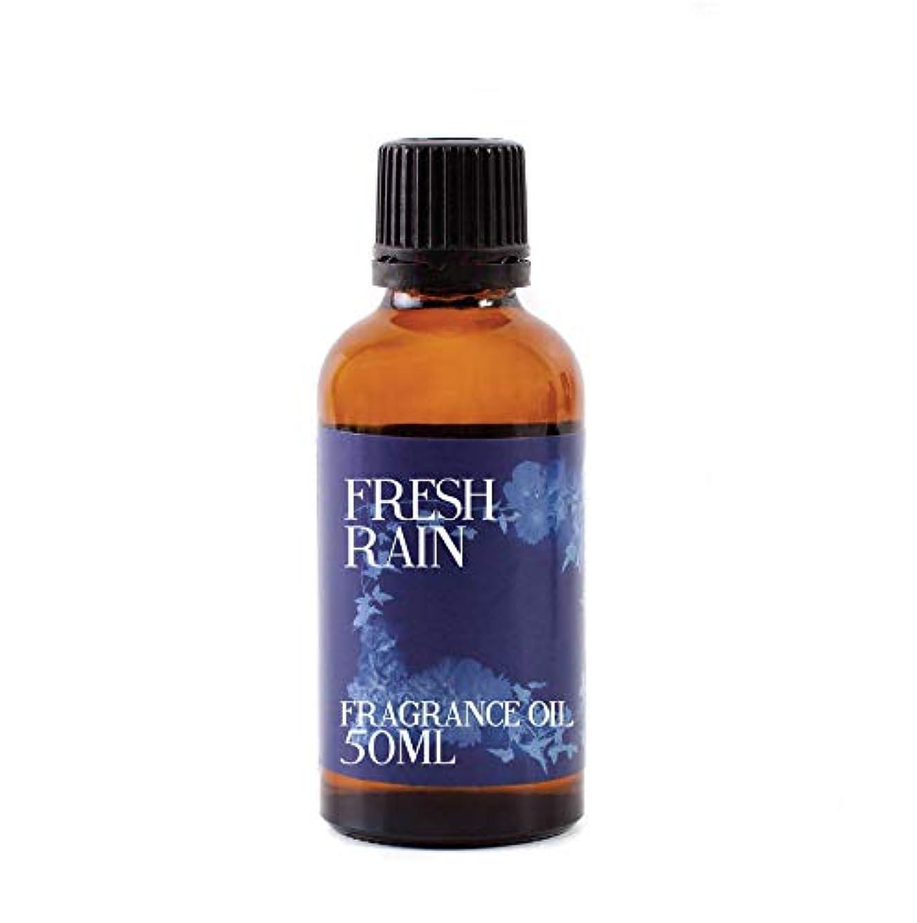 再生的パンダ勇気のあるMystic Moments   Fresh Rain Fragrance Oil - 50ml
