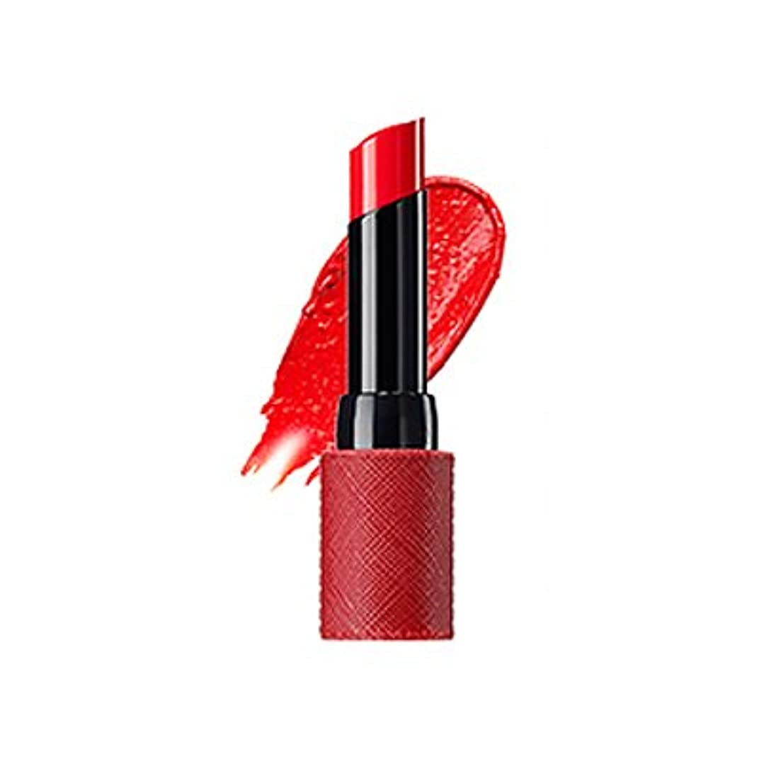 ピケイチゴ牽引The Saem Kissholic Lipstick S (OR 01 Dangerous) ザセムキスホリックリップスティック S [並行輸入品]