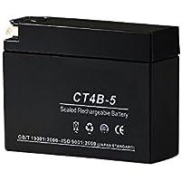 液入バッテリー CT4B-5 (GT4B-5/YT4B-5/YT4B-BS互換)