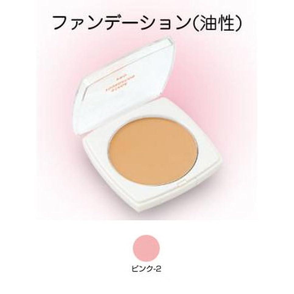 シンプルさキャロライン努力するステージファンデーション プロ 13g ピンク-2 【三善】
