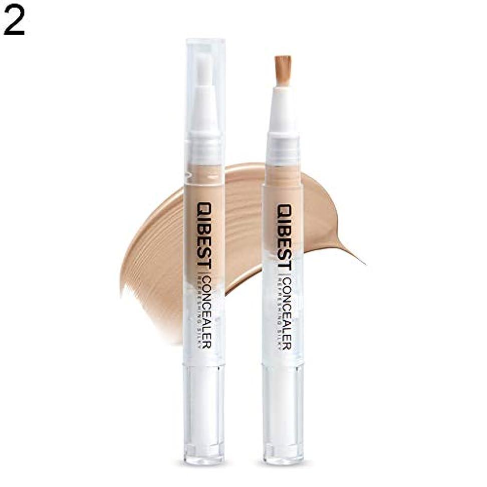 トレイ普遍的な割り込み防水防汚液体コンシーラーブロンザーフェイスコレクター蛍光ペン - 2