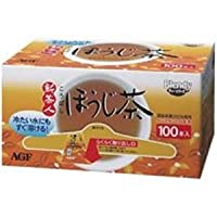 AGF 新茶人 こうばし ほうじ茶0.8g×100P×10箱入×(2ケース)