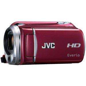 JVCケンウッド ビクター 120GBフルハイビジョンハードディスクムービー レッド GZ-HD620-R