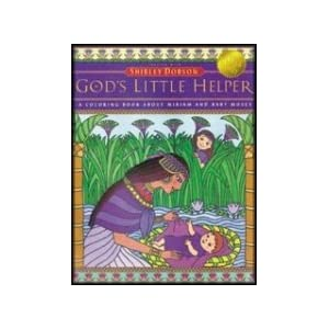 God's Little Helper Coloring Book (Read-To-Me Bible Story Coloring Books)
