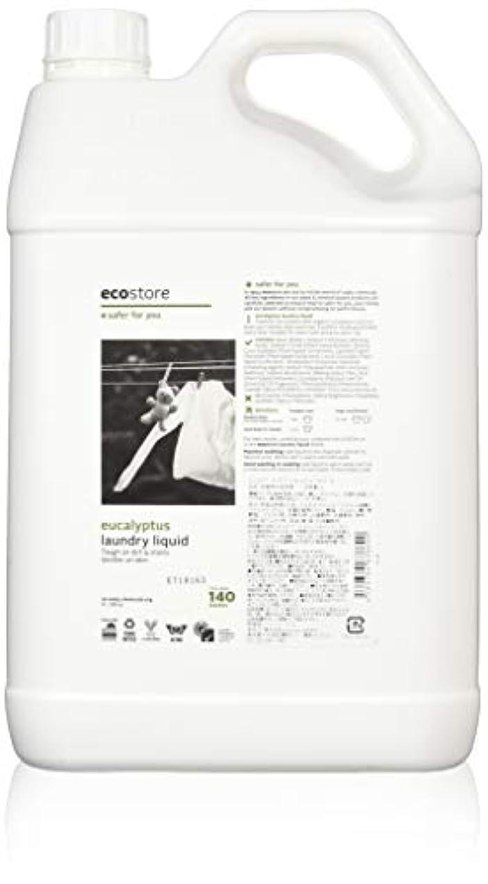 エールファセットバンクecostore エコストア ランドリーリキッド 【ユーカリ】 大容量 5L 洗濯用 液体 洗剤
