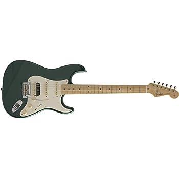 Fender エレキギター MIJ Hybrid 50s Stratocaster HSS, Sherwood Green Metallic