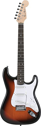 PG 4534853141413 フォトジェニック ST-180-SB ストラトタイプ エレキギター ソフトケース付き