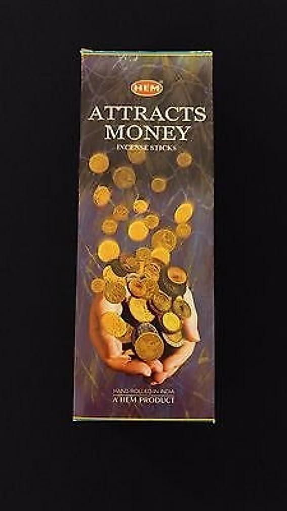 アサート読書をする旅Attracts Money 6ボックスの20 = 120裾Incense Sticksバルクケース小売表示