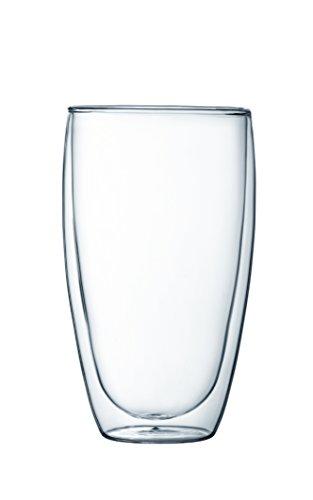 【正規品】 BODUM ボダム PAVINA ダブルウォールグラス 450ml (2個セット) 4560-10
