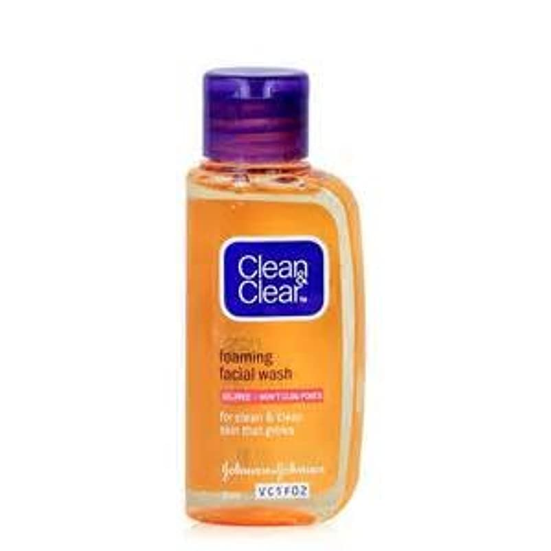 トレース決済ふりをするクリーン&クリア エッセンシャル フォーミング フェイシャル ウォッシュ clean&clear essentials foaming facial wash 50ml