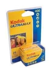 コダック/Kodak ネガカラーフィルム ULTRA MAX 400 24枚撮 ISO感度400 (5本)