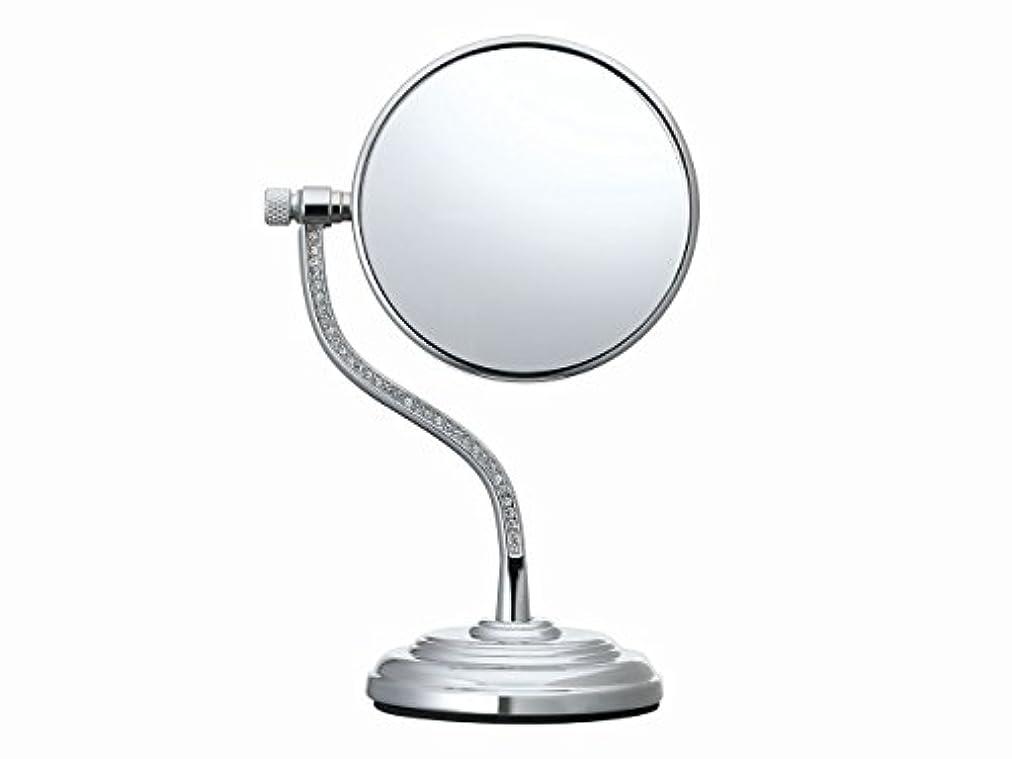 パウダー人生を作る満たすコイズミ 拡大鏡 サイズφ75mm シルバー KBE-3060/S