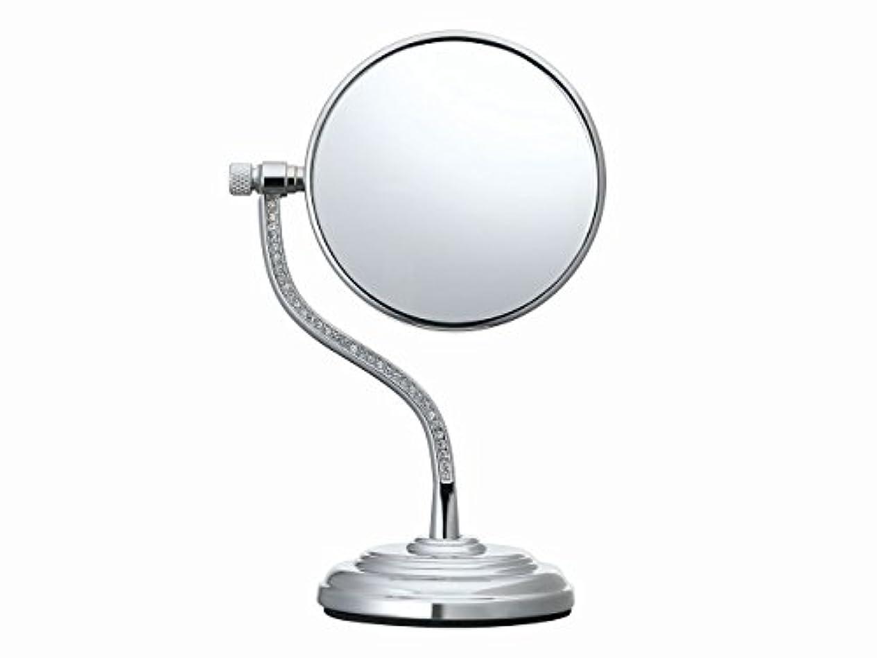 乏しいバスト可愛いコイズミ 拡大鏡 サイズφ75mm シルバー KBE-3060/S