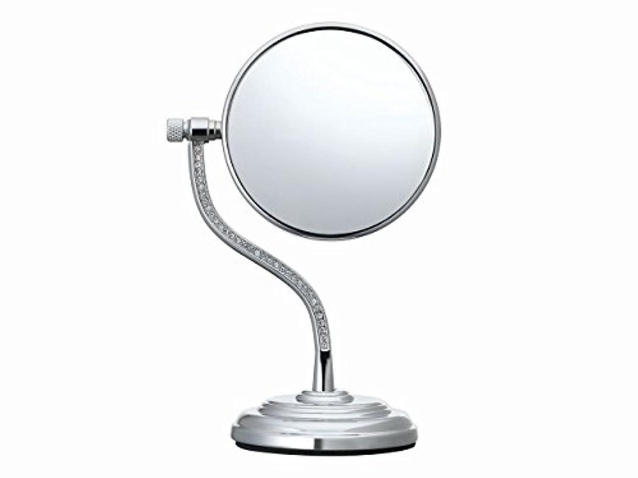 一回セメント意識コイズミ 拡大鏡 サイズφ75mm シルバー KBE-3060/S
