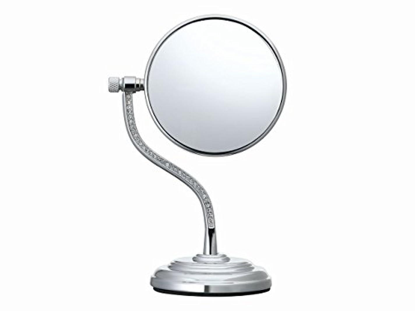 持続的ベンチ指コイズミ 拡大鏡 サイズφ75mm シルバー KBE-3060/S