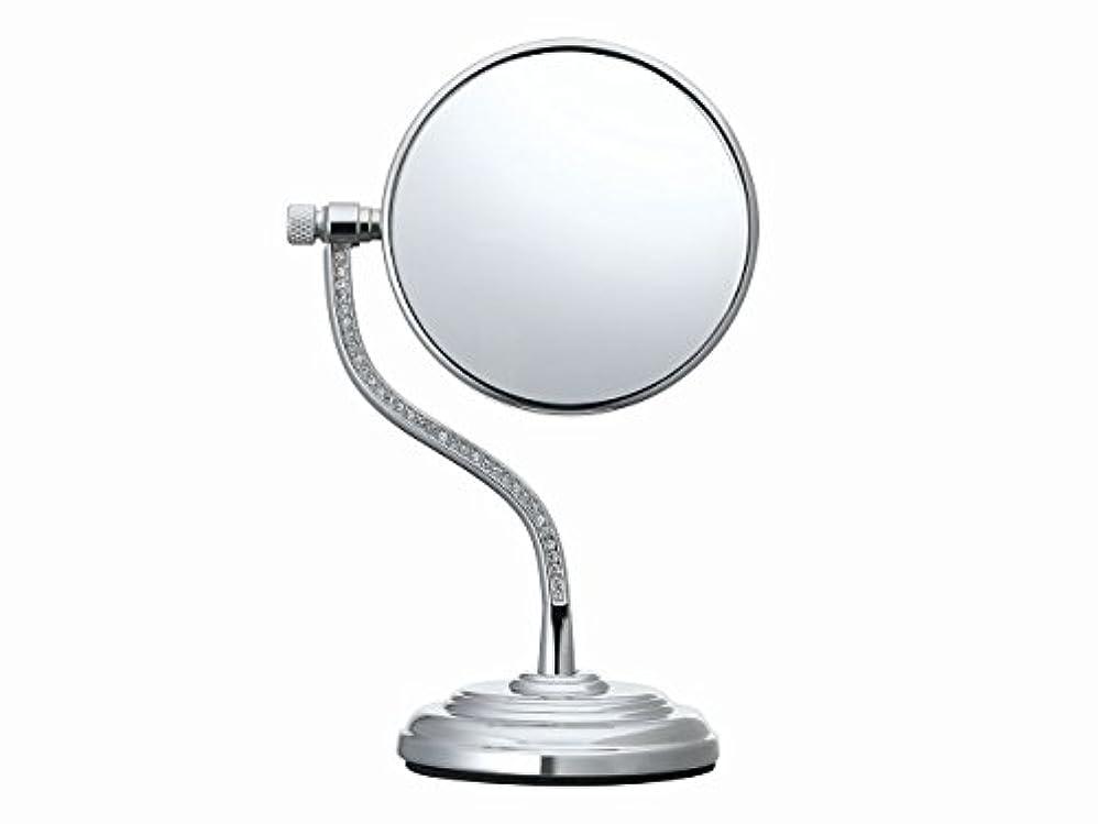 スーダンしなやかな曲コイズミ 拡大鏡 サイズφ75mm シルバー KBE-3060/S