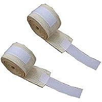 ボクシング バンテージ 2個1セット 伸縮 タイプ 柔軟 通気 肌触り 手首保護 幅5cm 長さ2.5m