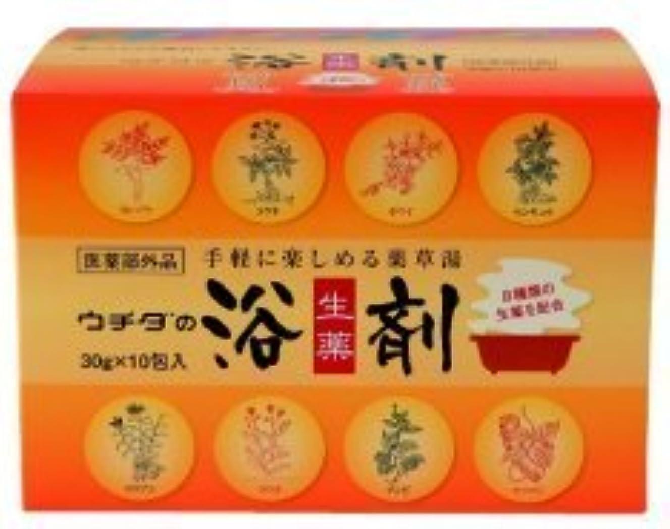 平和的優しいくちばしウチダの 生薬浴剤 30g×10包 【医薬部外品】