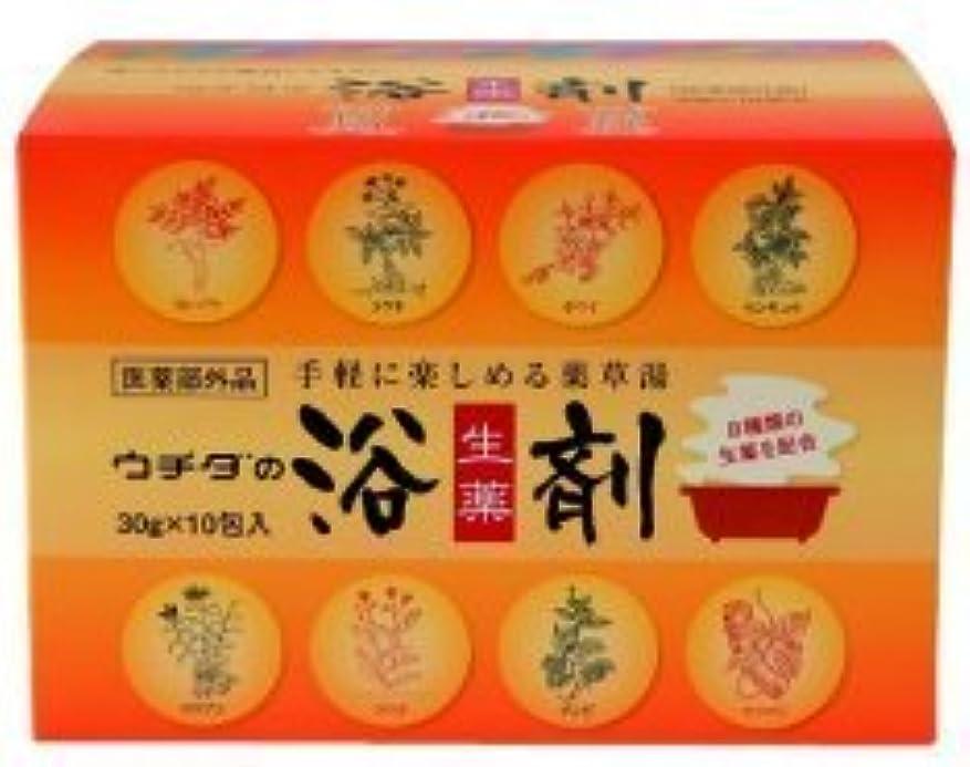 ミニ振る甥〔ウチダ和漢薬〕ウチダの浴剤(30g×10包入)×2個セット+1包おまけ