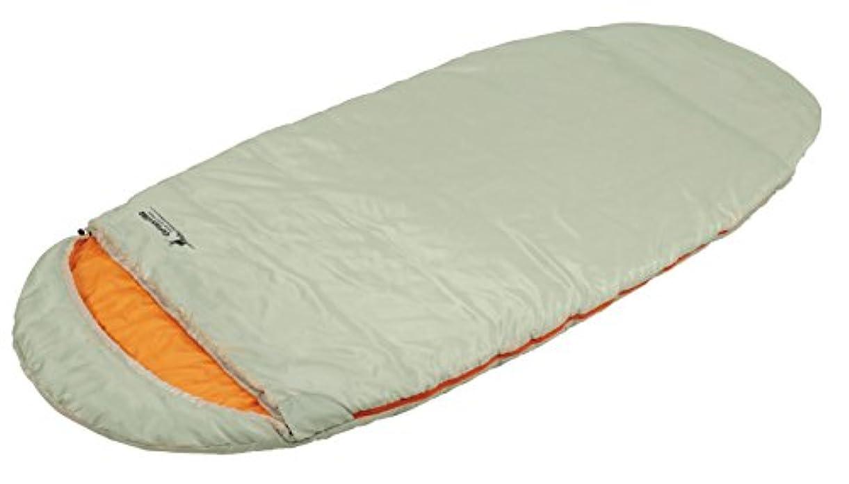 祝福する先特異性キャプテンスタッグ(CAPTAIN STAG) 寝袋 シュラフ エッグ型シュラフ 中綿1200g 【最低使用温度10度】 丸洗い 収納袋付き グラスホワイト UB-21
