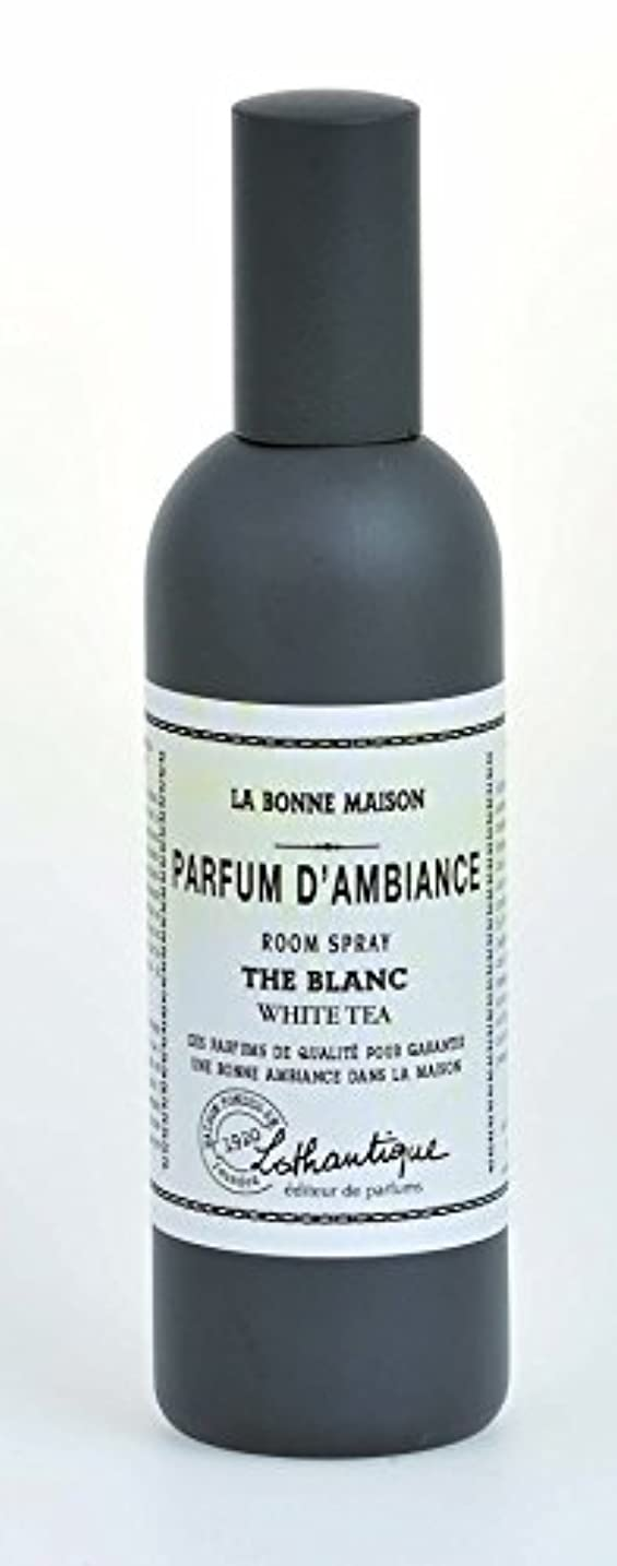 仕事に行くまたね帳面Lothantique(ロタンティック) LES Bonne Maison(ボンメゾンシリーズ) ルームスプレー 100ml 「ホワイトティー」 3420070039040