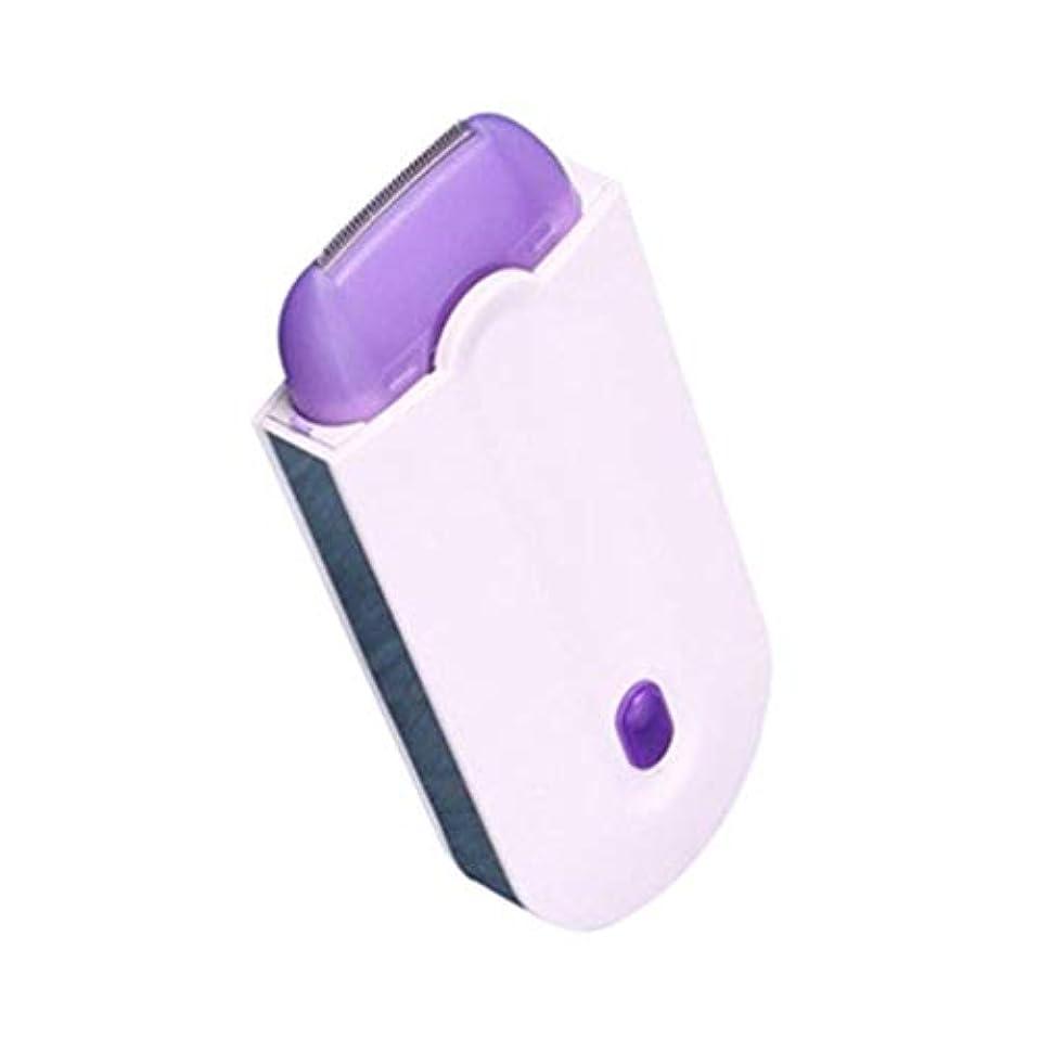 装置フェデレーション著名なヘアリムーバー軽量、電気脱毛器シェービングデバイス無痛シェービングカミソリ電動トリマー永久脱毛防止髪,A