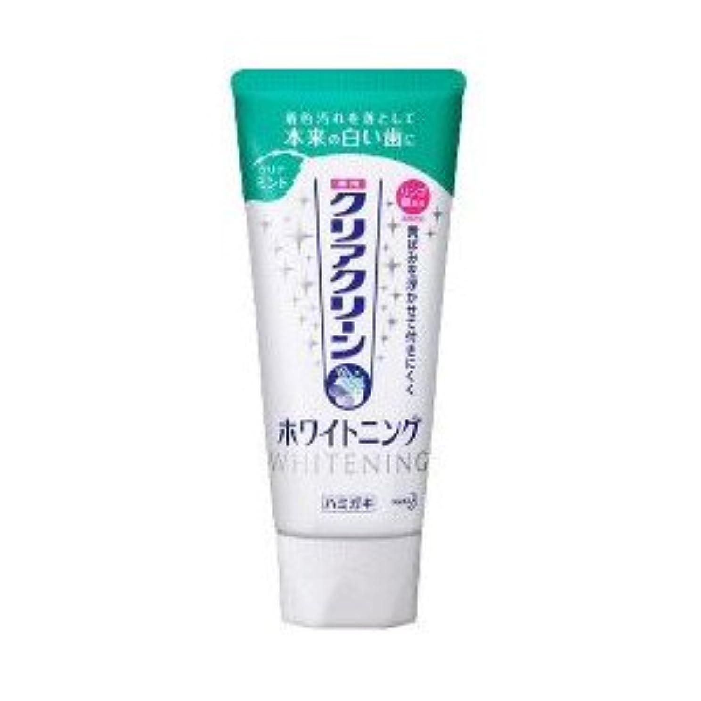 ブロッサム家事集団的【花王】クリアクリーン ホワイトニング クリアミント 120g