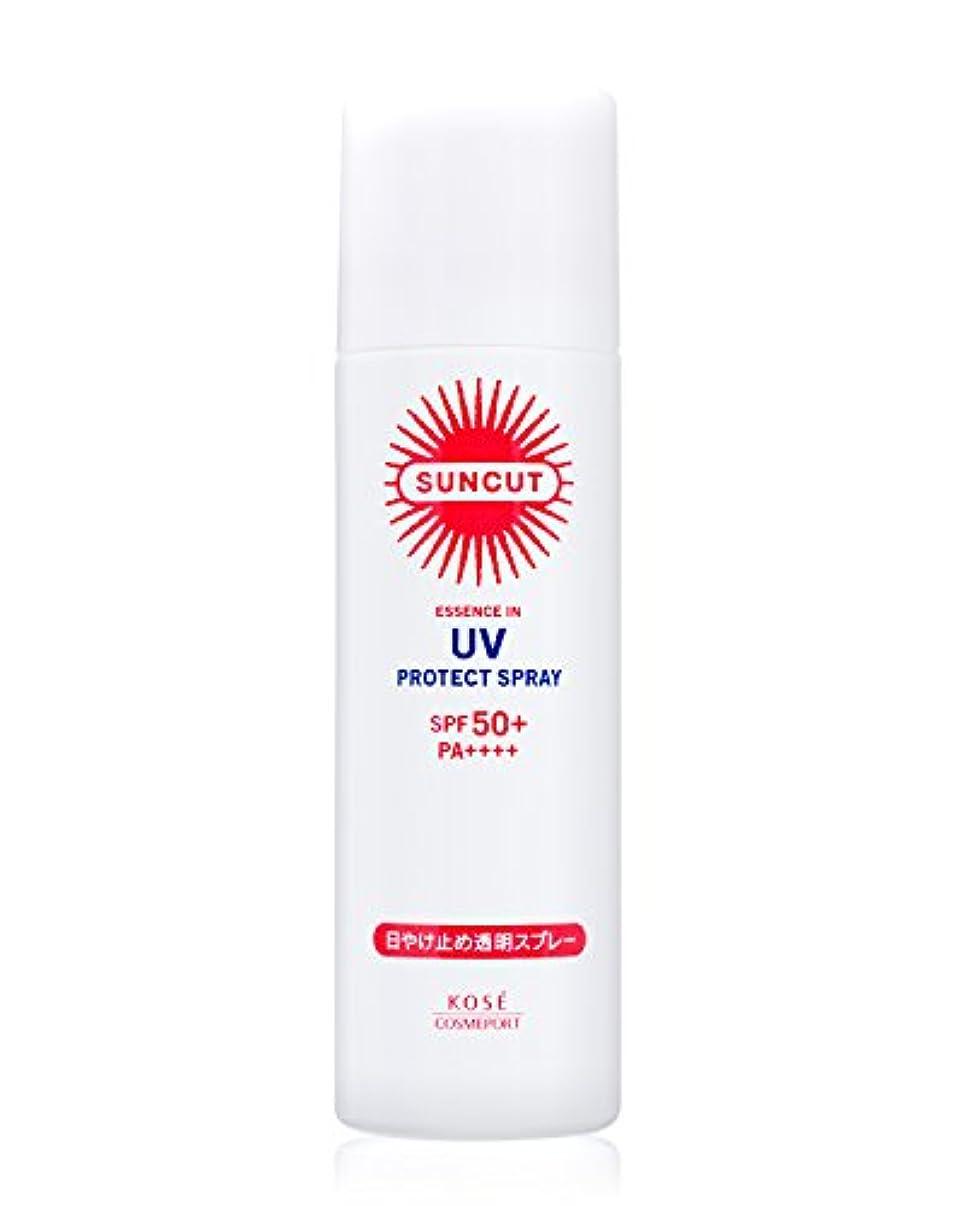 そこグローベイビーKOSE コーセー サンカット 日焼け止め 透明 スプレー 無香料 90g SPF50+ PA++++