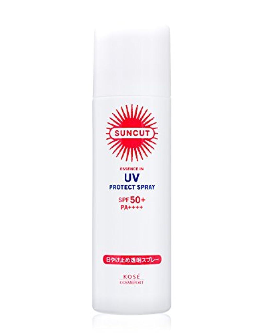 興味過去荒らすKOSE コーセー サンカット 日焼け止め 透明 スプレー 無香料 90g SPF50+ PA++++