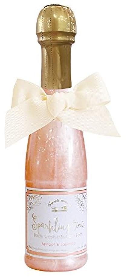 ルー倉庫不屈ノルコーポレーション 入浴剤 バブルバス スパークリングタイム アプリコット&ジャスミンの香り 240ml OB-SMM-38-3