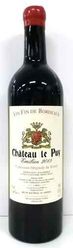 シャトー・ル・ピュイ エミリアン 2015 フランス産赤ワイン
