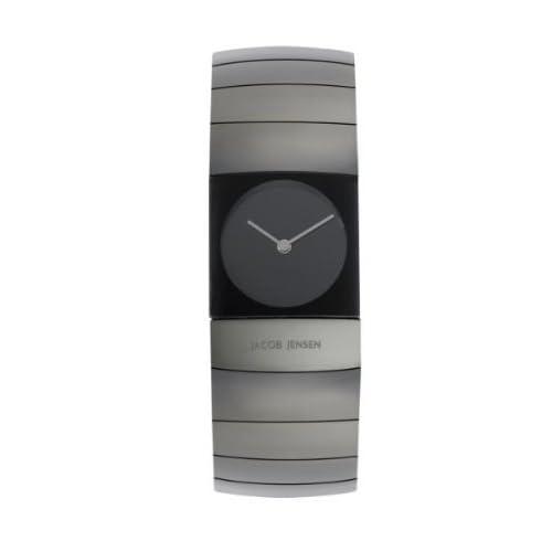 時計 Jacob Jensen ヤコブイェンセン 582 Arc Series Sapphire Crystal Titanium Women's Watch ウィメンズ レディース 女性用 [並行輸入品]