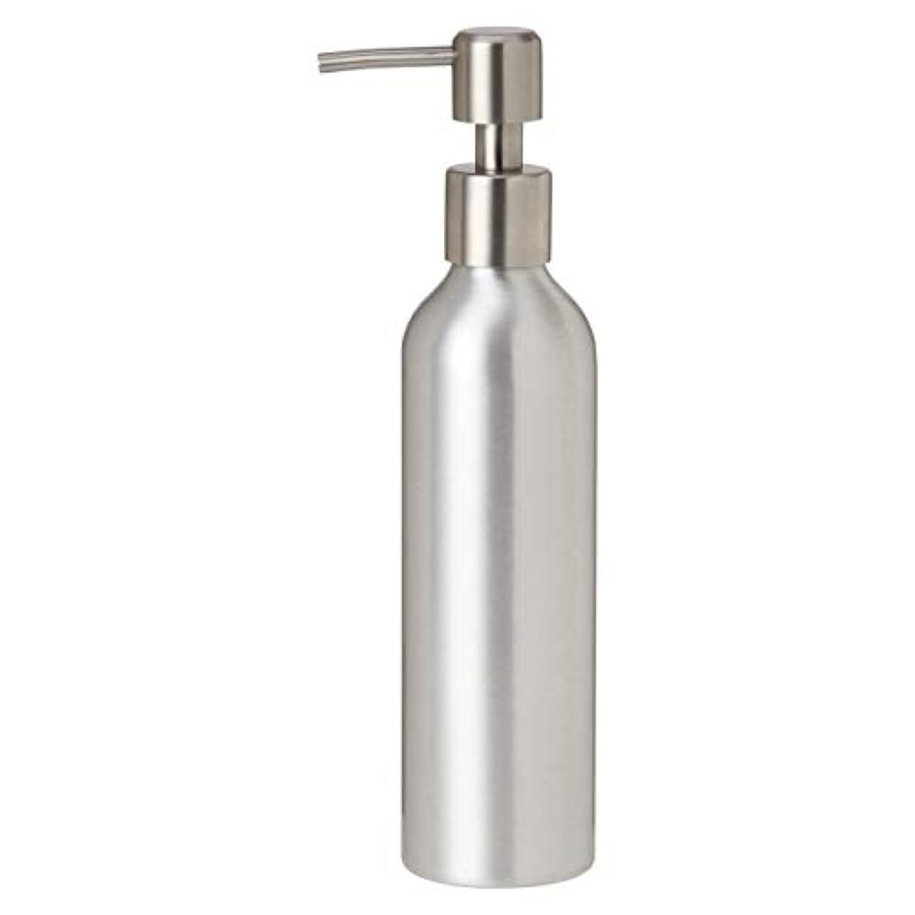 広く買う生産性アルミポンプボトル 250mL [ オイルウォーマー オイルトリートメント オイルボトル マッサージオイル アロママッサージオイル ボディマッサージオイル ボディオイル アロマオイル ]