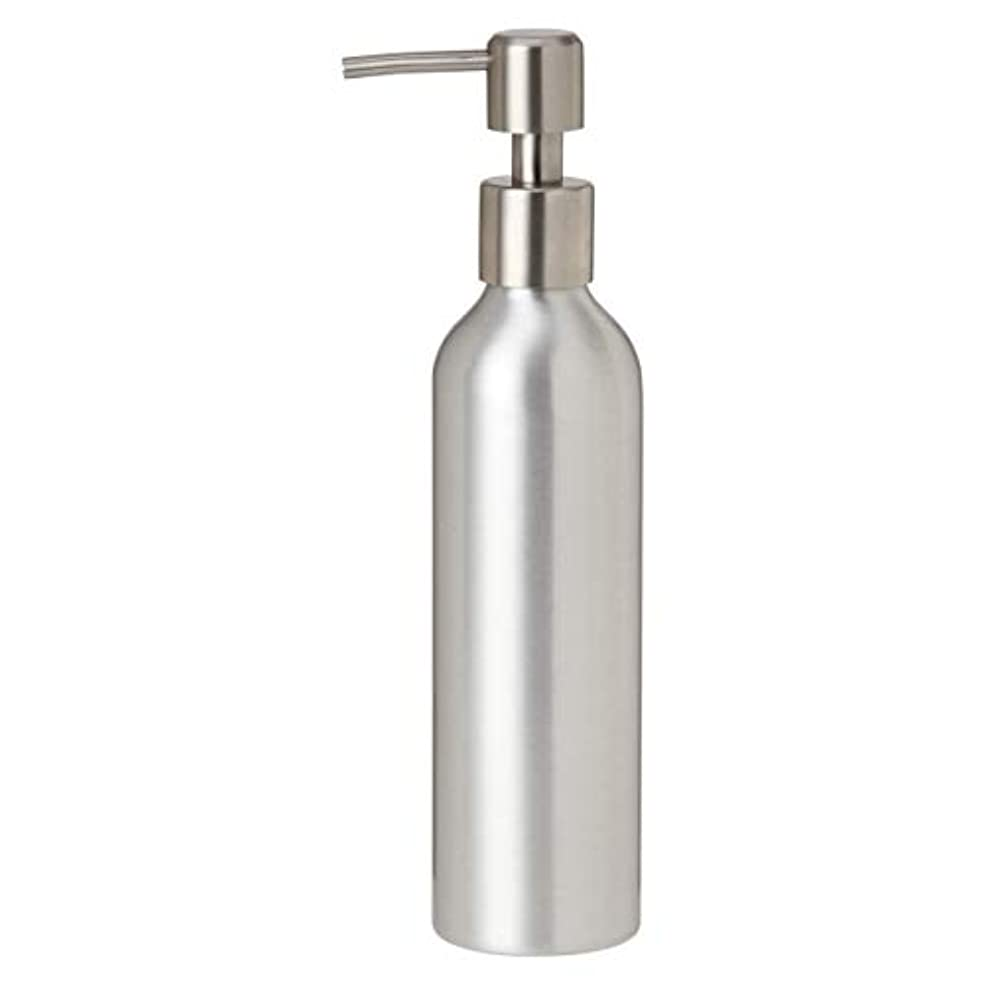 インスタント笑ドレインアルミポンプボトル 250mL [ オイルウォーマー オイルトリートメント オイルボトル マッサージオイル アロママッサージオイル ボディマッサージオイル ボディオイル アロマオイル ]