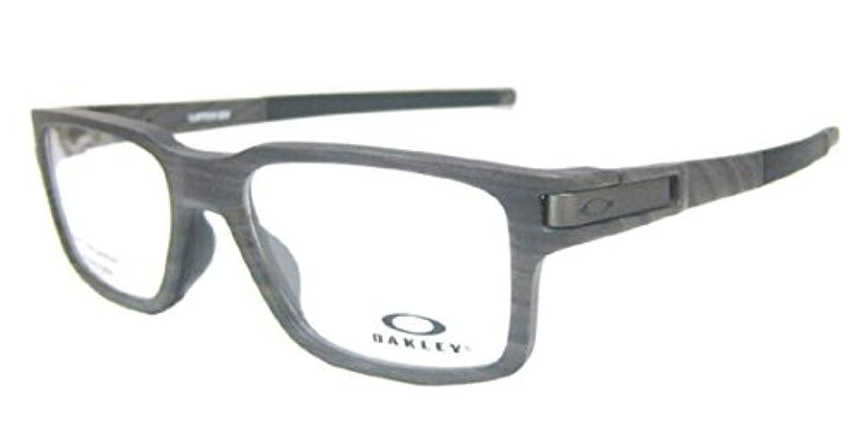 特許イソギンチャク権限OAKLEY オークリー メガネ フレーム LATCH EX ラッチEX OX8115-0352 ウッドグレイン(木目)