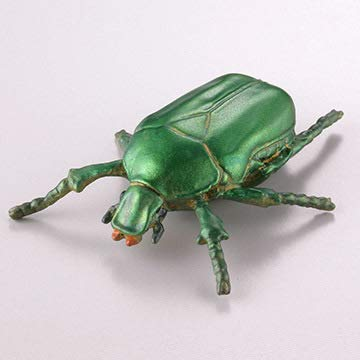 カプセルQ 「カナブン(緑色)」 樹液に集まる昆虫~真夏の夜の宴 海洋堂