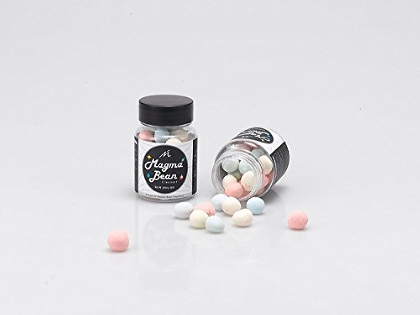 ミネラル四回弱まるNMC マグマ ビーン ソリッド ソープ / Magma Bean Solid Soap (34g)
