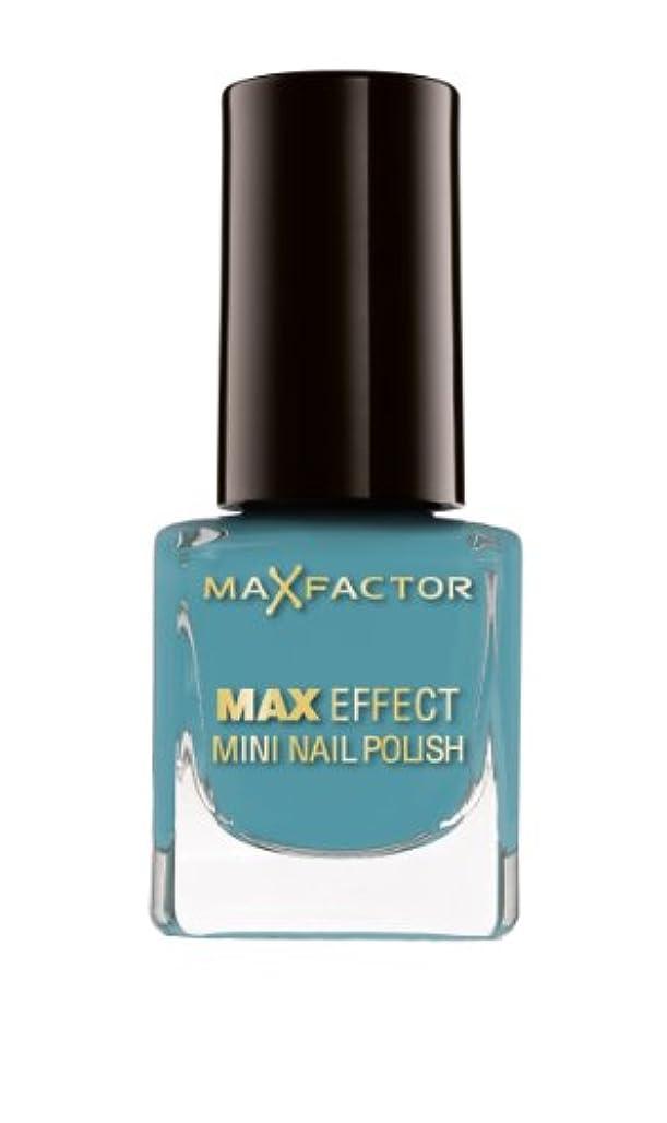 安西フィット計画的Max Factor Max Effect Mini Nail Polish 47 Hawaiian Blue, 1er Pack (1 x 5 ml)