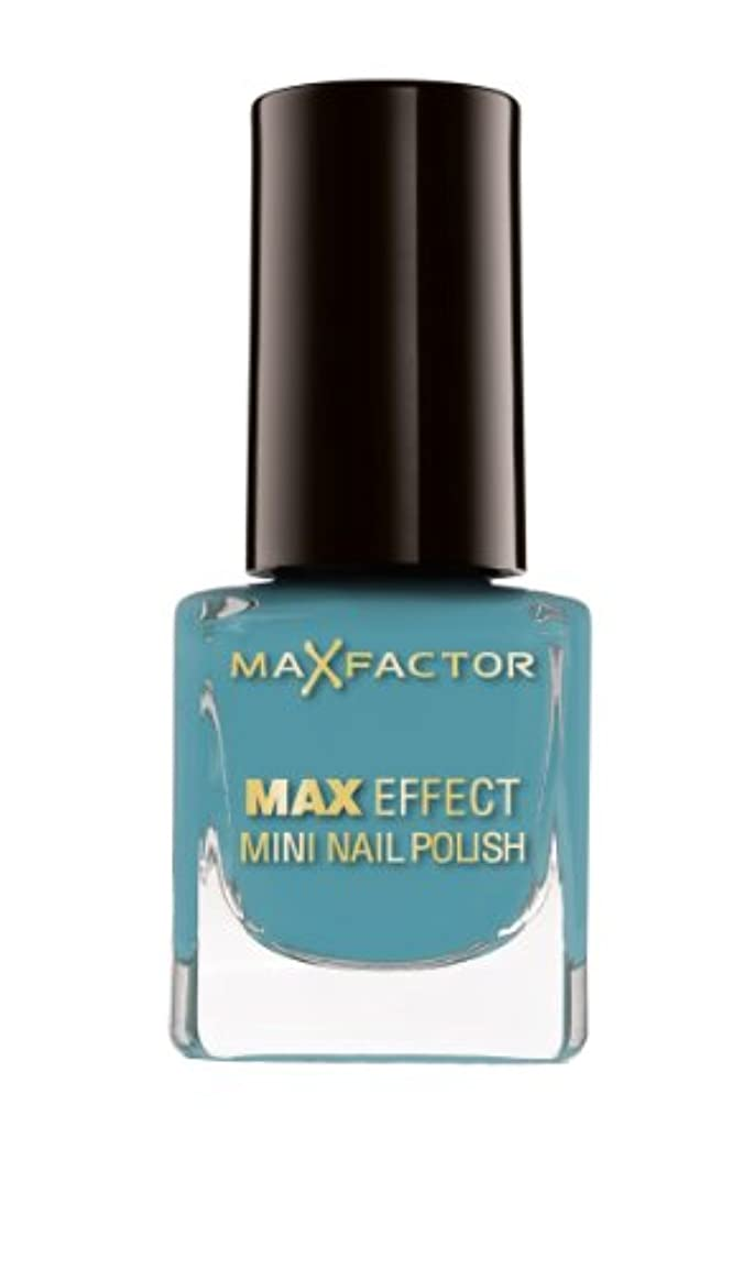 マーケティング特殊一見Max Factor Max Effect Mini Nail Polish 47 Hawaiian Blue, 1er Pack (1 x 5 ml)