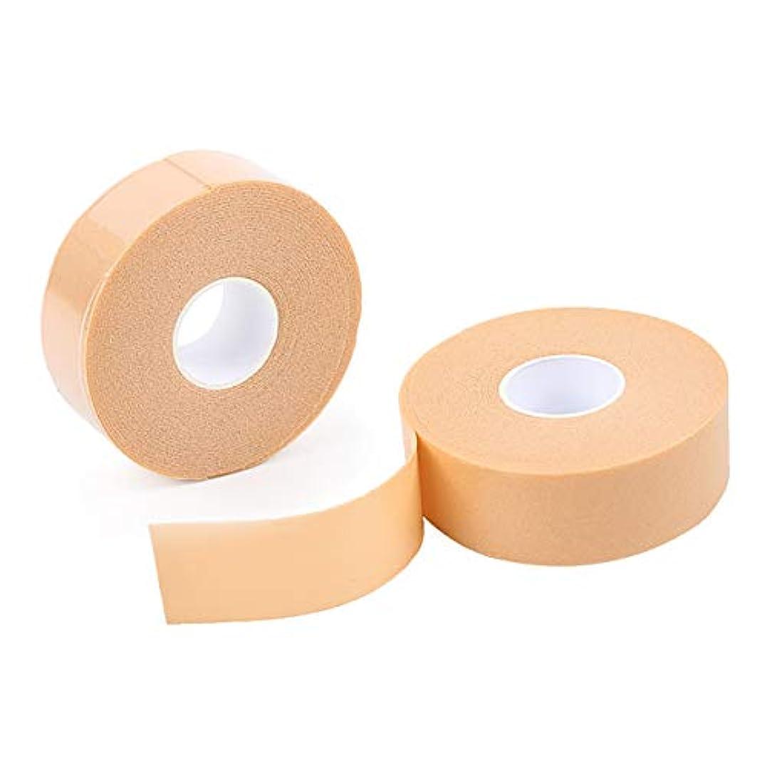 真鍮精緻化データムHAMILO 保護テープ 靴ズレ かかと 足用パッド 傷テープ 厚手タイプ 手で切れる 滑り止め (4個セット)