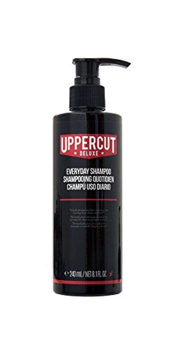 省座標性能UPPERCUT DELUXE(アッパーカットデラックス) EVERYDAY SHAMPOO シャンプー 男性用 リコリス メントール 240ml