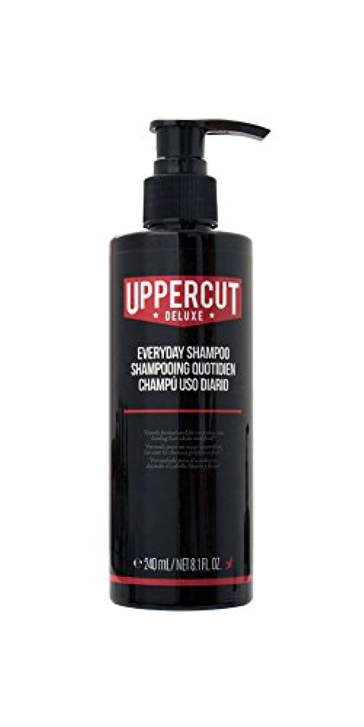 前売病弱言い訳UPPERCUT DELUXE(アッパーカットデラックス) EVERYDAY SHAMPOO シャンプー 男性用 リコリス メントール 240ml