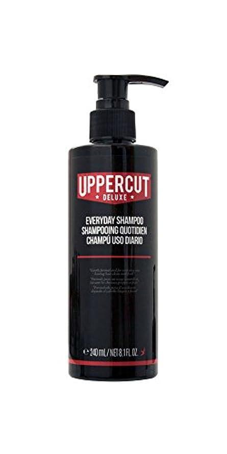 こねるキャップ人類UPPERCUT DELUXE(アッパーカットデラックス) EVERYDAY SHAMPOO シャンプー 男性用 リコリス メントール 240ml
