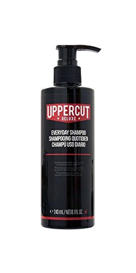 余暇付録柱UPPERCUT DELUXE(アッパーカットデラックス) EVERYDAY SHAMPOO シャンプー 男性用 リコリス メントール 240ml