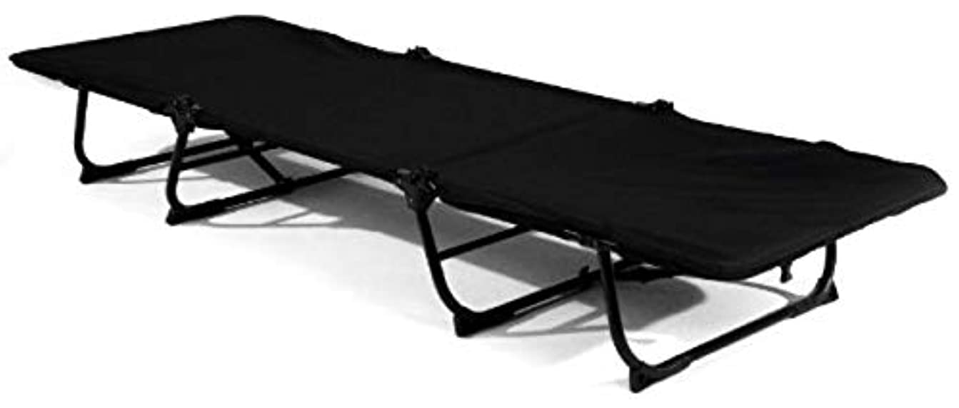 小人の慈悲でロッカーKwik Cot, Black/Gray, 400 lb Capacity by Kamp-Rite Tent Cot Inc