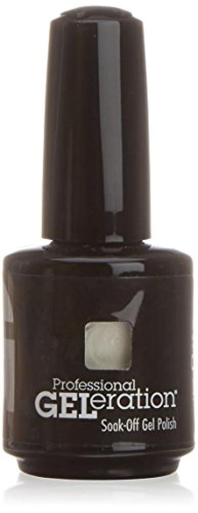 シャットストレッチ主観的ジェレレーションカラー GELERATION COLOURS 557 C ウェディングガウン 15ml UV/LED対応 ソークオフジェル